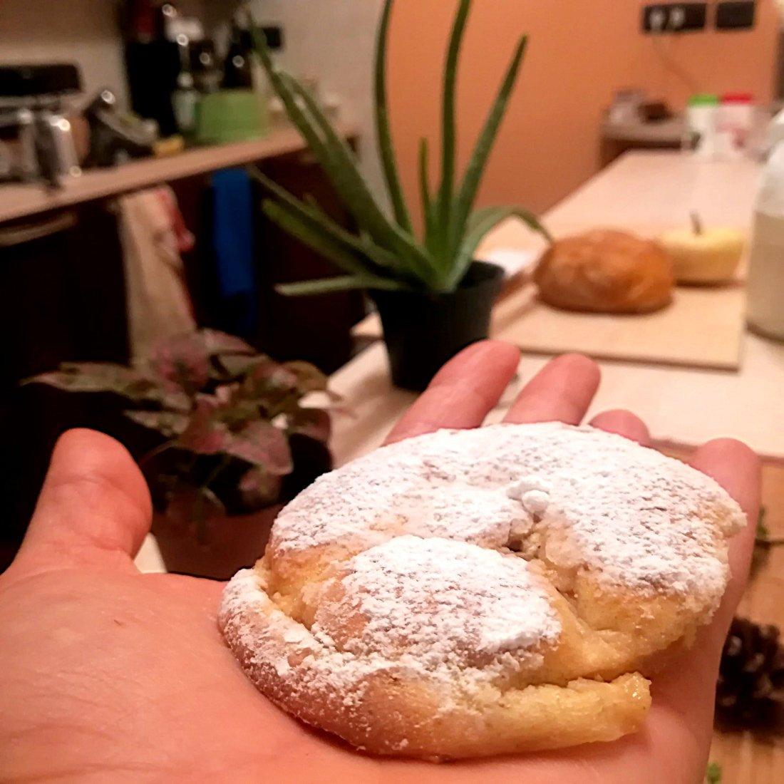 Frittelle Di Mele Al Forno Senza Glutine Mangiar Bene Mangiando Sano